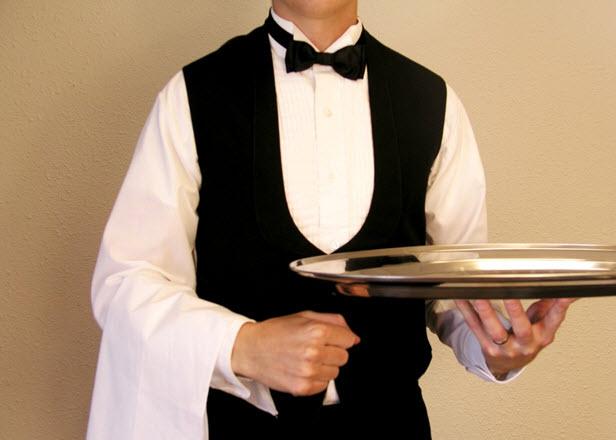 Waiter platter
