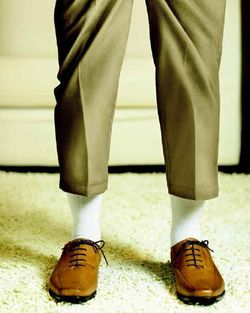 Pants too short