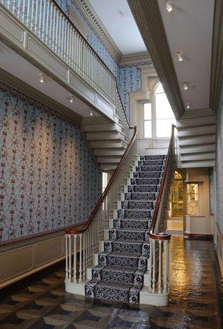 Mclellan house stairs