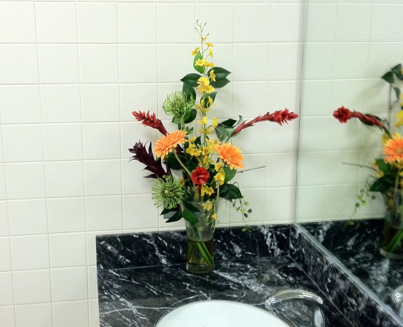 LFG Flowers in the Mens Room cropped