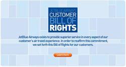Customer bill of rights