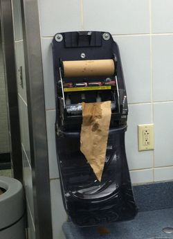 Bwi paper towel