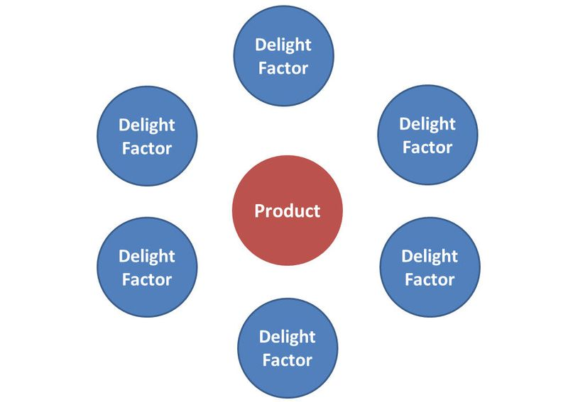 Customer experience delight factors