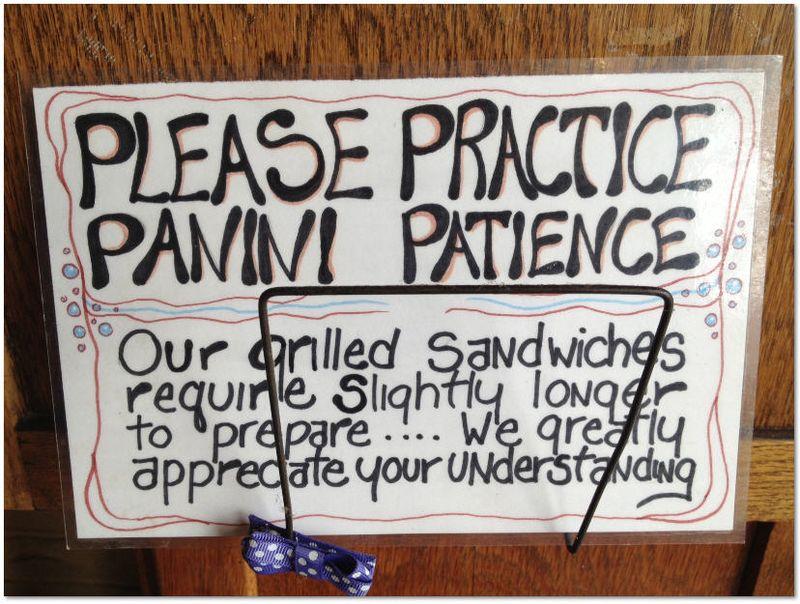 Panini Patience
