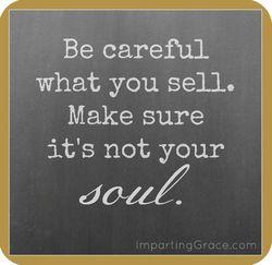 Soul for sales