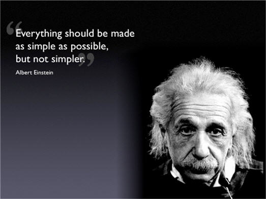 Einstein simple