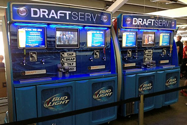 Self servce beer station