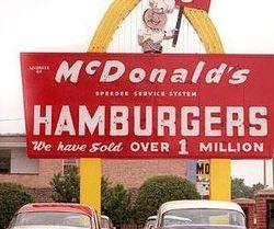Mcdonalds over a million served