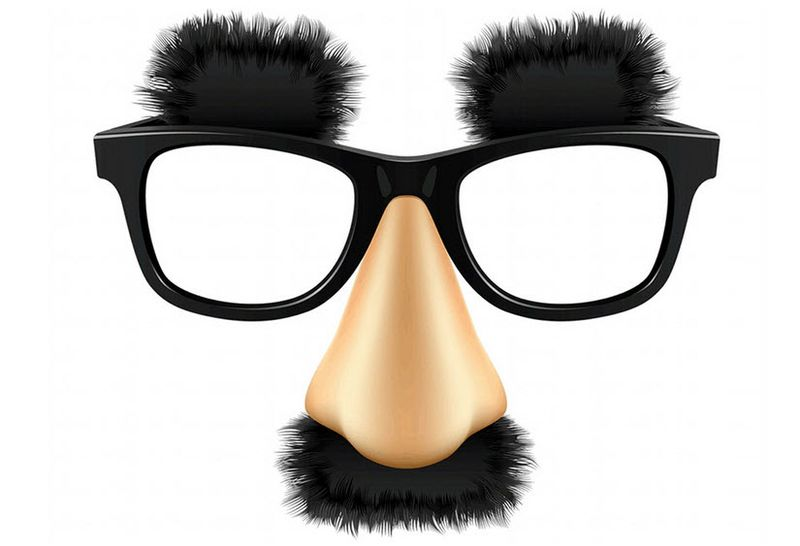 Groucho glasses disguise