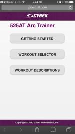 Arc Trainer App