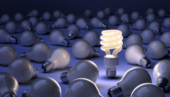Thinking Differenty Lighbulb