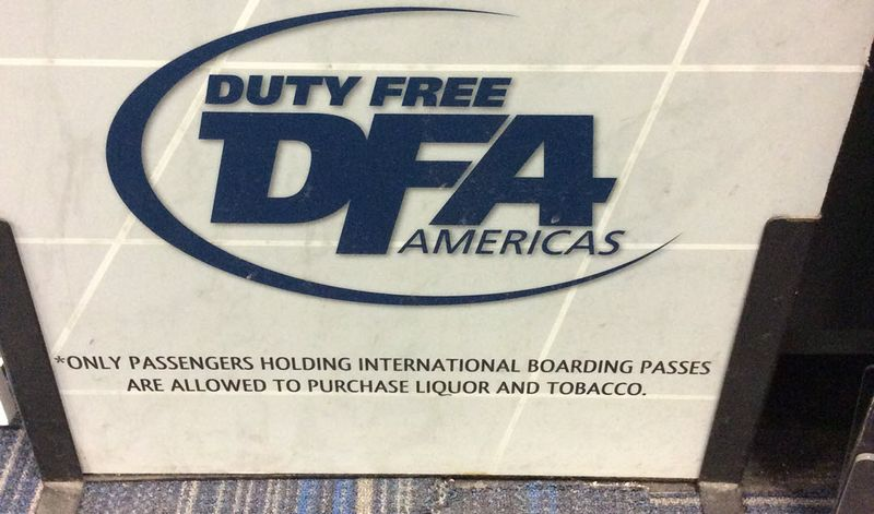 Duty free footnote