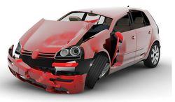 Crashed VW