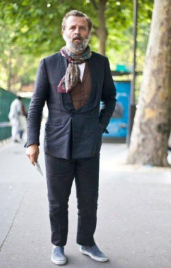 Frenchman in Scarf