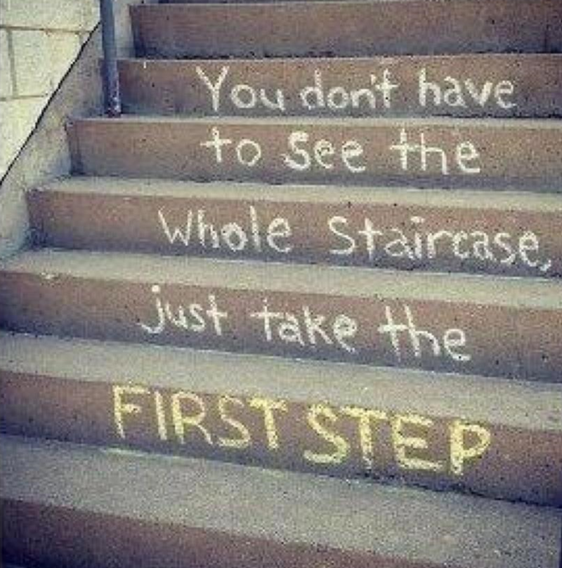 Take the first step 2