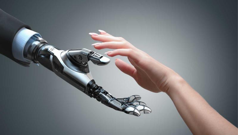 Balance AI with EI hands