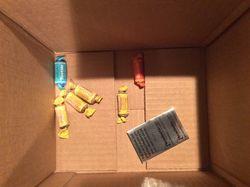 Tootsie Rolls in box