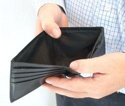 Empty wallett