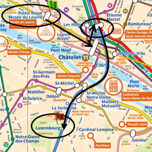 Paris subway map 2