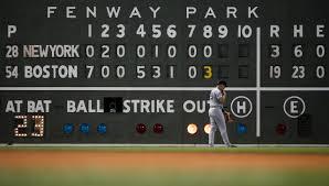 Fenway Scoreboard